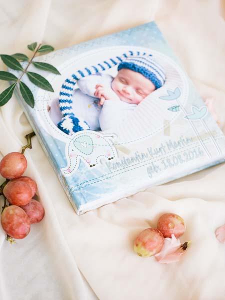 Fotobuch, Fotoalbum, Babyfotograf
